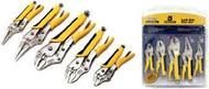 5 pc Getta-Grip Locking Pliers Set