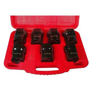 1/2 in  Dr. 7pc. Bearing Locknut Socket Set
