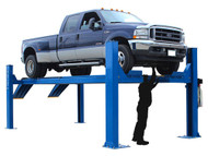 Atlas® 14KOF-EXT Garage Pro Open Front 4 Post Alignment Lift (COMMERCIAL GRADE,EXTRA LONG)