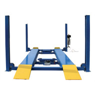 12,000 lb. Capacity Commercial Grade 4-Post Lift, 220 Volt, Ladder Lock
