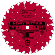 Freud 10-Inch 24 Tooth FTG Ripping Saw Blade LM72R010