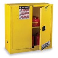 45 Gallons Yellow Safety Cabinets for Flammables JUS-894500