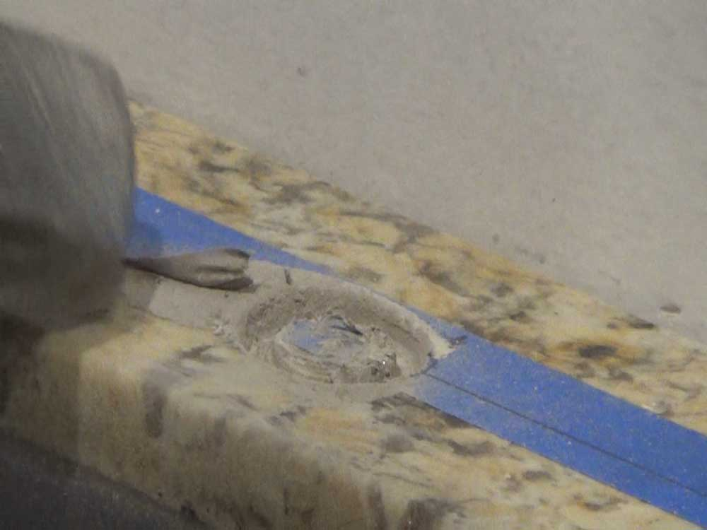How To Drill A Hole Into Tile Granite Countertop Stone