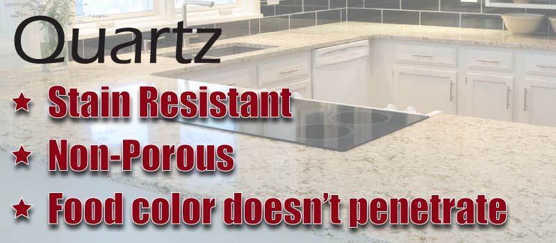 Natural Stones Granite And Marble Are Porous And Needs Sealant On Regular  Interval. When It Comes To Quality Stain Resistant Countertops, Quartz  Surfaces ...