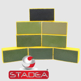 STADEA Diamond Hand Polishing Pads for Granite Marble Stone Polishing - 8 Pcs Set