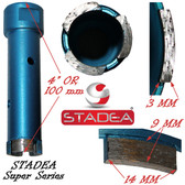 "1"" diamond hole saw diamond core drill bits for concrete masonry stone granite coring drilling by Stadea"