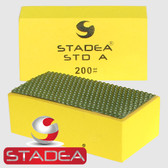 Stadea Diamond Hand Polishing Pads For Stone Hand Polishing Granite Concrete Marble Glass, Grit 200
