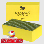 Stadea Diamond Hand Polishing Pad Marble Stone Concrete Granite, Grit 50