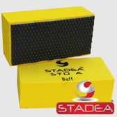 STADEA Diamond Hand Buffing Pad For Stone Marble Concrete Glass Polishing Buffing, Black Buff 1 Piece