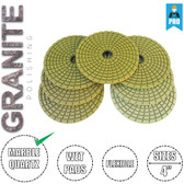 Stadea Granite Polishing Diamond Pads for Granite Wet Polishing, Series Super G