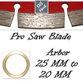 "5 Pcs 14"" Diamond Saw Blade Concrete Marble Brick Block"