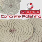 "Stadea 4"" Diamond Polishing Pad For Concrete Marble Polishing, Series CRT A"