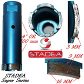 Stadea diamond concete hole saw core drill bits for concrete masonry granite stone coring drilling - 38 mm or 1 1/2""