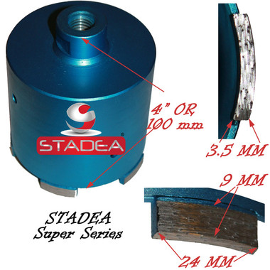 Granite Masonry Concrete Hole Saw Core Bits By Stadea