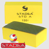 Stadea Diamond Hand Polishing Pads For Glass Stone Concrete Granite Marble Hand Polishing, Grit 150