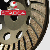 STADEA Diamond Cup Grinding Wheel for Stone Concrete Marble Stone, 5 Inch Series Super A
