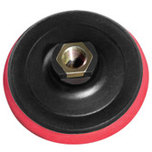 "Stadea Foam Hook and Loop Velcro Backing Pad - 4 Inch - Arbor 5/8"" 11, 1 Piece - Series Standard A"