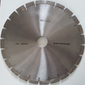 "Diamond Bridge Saw Blade For Granite Quartz Wet Cutting With Silent Core - Sizes 12"", 14"""