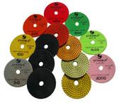 """Stadea Diamond Polishing Pads 4"""" Granite Polishing Kit, Series Ultra D"""