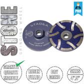 Stadea Diamond Cup Grinding Wheel Resin Filled for Granite Stone Quartz Concrete Grinding, Series Super A