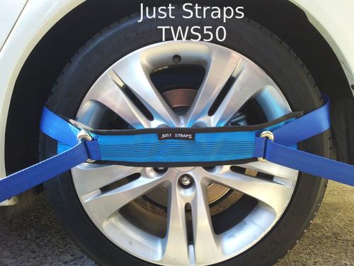 Just Straps Car Transport Wheel Strap Juststraps2go