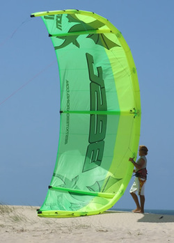 Trainer Kite to Full Size Kite