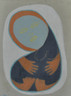 """Fertile - Acrylic on Canvas -  Framed.  25 x 19"""""""