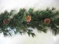 Artificial Wild Forest Pine Christmas Garland