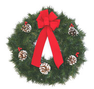 High Quality Artificial Pine Wreath