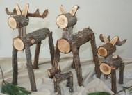 Decorative Cedar Moose