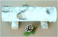 Birch Tea Light Candle Log