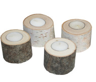 Birch and Basswood Tea Light Candle Minis