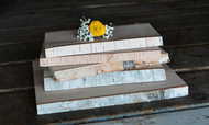 WHITE BIRCH PLANKS (set of 6)