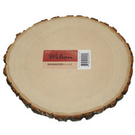 Basswood Round- Plate Charger