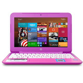 HP Stream 11-d011wm Celeron N2840 Dual-Core 2.16GHz 2GB 32GB SSD 11.6 WLED Notebook W8.1 w/Webcam & BT (Orchid Magenta)