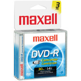 MAXELL 567622 - DVDRCJC3PK 1.4GB Camcorder DVD-Rs, 3 pk