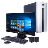 HP Pavilion 550-153wb Core i3-4170 Dual-Core 3.7GHz 6GB 1TB DVDRW W10 Mini-Tower & 23 HP 1080p IPS Monitor Bundle - B