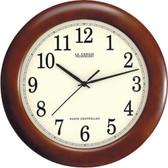 LA CROSSE TECHNOLOGY WT-3122A 12.5 Walnut Atomic Wall Clock
