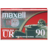 MAXELL 108510 Normal-Bias Cassette Tapes (Single)