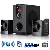 beFree Sound 2.1 Channel Surround Sound Bluetooth Speaker System - BFS-30