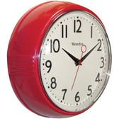 WESTCLOX 32042R 9.5 Retro 1950s Kitchen Wall Clock