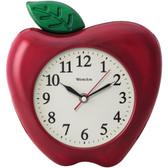 WESTCLOX 32038A 3D Apple 10 Wall Clock