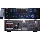 PYLE HOME PD3000A 3,000-Watt AM/FM Receiver with Built-in DVD