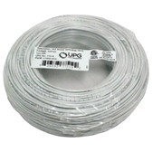 UPG 77519 18-Gauge, 2-Conductor Striped Control White Cable, 500ft Speedbag
