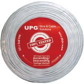 UPG 77034 22-Gauge, 4-Conductor Alarm White Cable, 500ft Speedbag (Stranded)