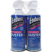 ENDUST 248050 Electronics Duster (10oz; Non-Flammable; with Bitterant; 2 pk)
