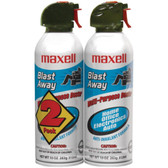 MAXELL 190026 - CA4 Blast Away Canned Air (2 pk)