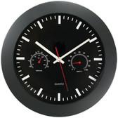 TIMEKEEPER 6990 12 Temperature & Humidity Wall Clock