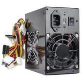 Logisys 550W Black Beauty Dual Fan 20+4-pin ATX Power Supply w/SATA (Black)