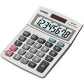 CASIO MS80SSIH Solar Desktop Calculator with 8-Digit Display
